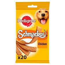 image 1 of Pedigree Chicken Schmackos Dog 20 Treats, 172G