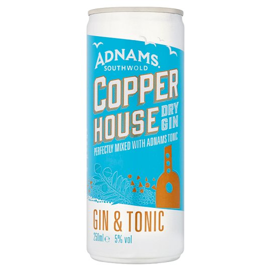 Adnams Copper House Gin And Tonic 250Ml