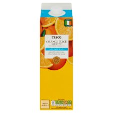 Tesco 100% Pure Orange Juice Smooth 1 Litre