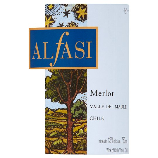 Alfasi Merlot Red 750Ml