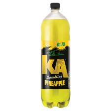 Ka Sparkling Pineapple 2 Litre Bottle