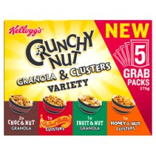 Kelloggs Crunchy Nut Variety Pack 275G