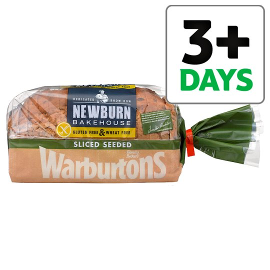Warburtons Free From Seeded Loaf 600G