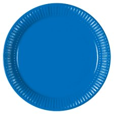 Tesco Blue Plates 8Pk