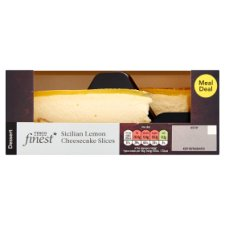 Tesco Finest 2 Sicilian Lemon Cheesecakes 180G