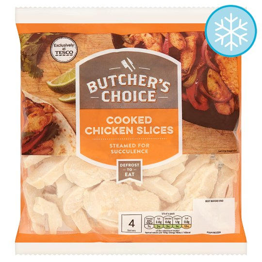 Butchers Choice Cooked Chicken Slices 500G