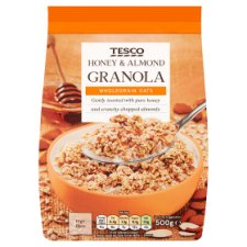 Tesco Honey And Almond Granola 500G