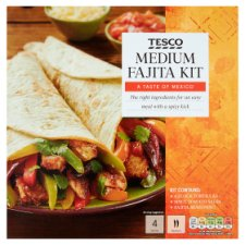 Tesco Medium Fajita Kit 475G