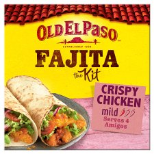 Old El Paso Crispy Chicken Fajita Kit 555G