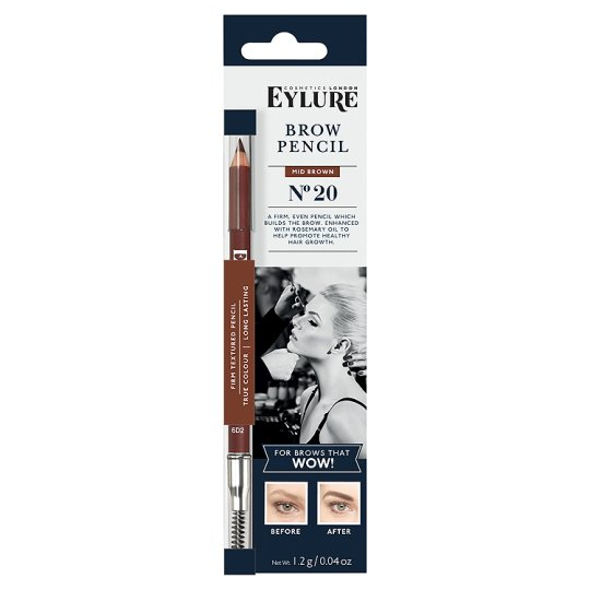 Eylure Firm Brow Pencil Mid Brown