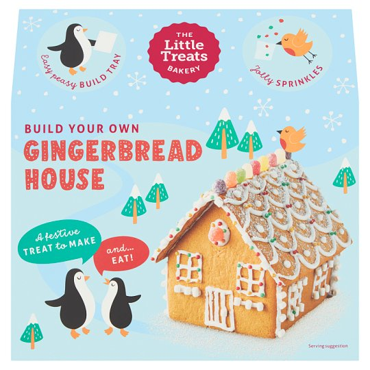 The Little Treats Bakery Gingerbread Christmas House
