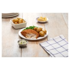 image 2 of Tesco 2 Breaded Chunky Cod Fillets 350G