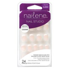 Nailene Nail Studio Short French 71177 24 Pack