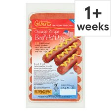 Gilberts American Hot Dogs 350G