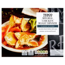 Tesco Mini Meals Roast Chicken Dinner 250G