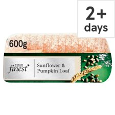 Tesco Finest Sunflower And Pumpkin Loaf 600G