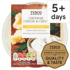 Tesco Cheese And Chive Dip 200G