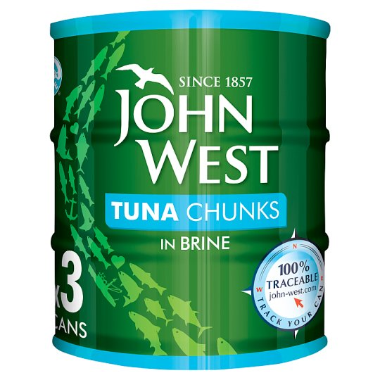 John West Tuna Chunks 3X145g Brine