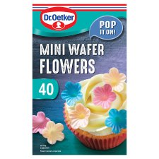Dr Oetker Wafer Flowers 40'S