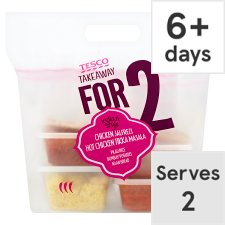 Tesco Takeaway Hot Indian Meal For 2 1670G