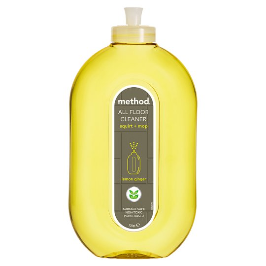 Method Hard Floor Cleaner Lemon And Ginger 739Ml