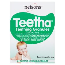 Nelsons Homeopathy Teetha 24 Sachs