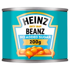 Heinz Baked Beans No Added Sugar In Tomato Sauce 200G