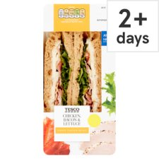 Tesco Chicken Bacon And Lettuce Sandwich