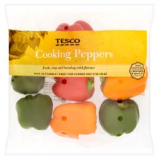 Tesco Cooking Peppers 600G