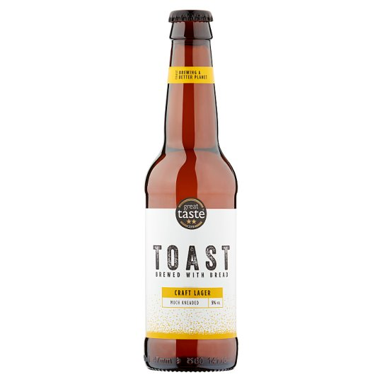 image 1 of Toast Ale Lager Much Kneaded 330Ml