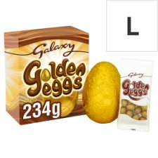Galaxy Golden Eggs Milk Chocolate Easter Egg And Mini Eggs 234G