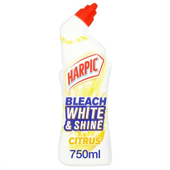 Harpic White And Shine Citrus Toilet Bleach 750 Ml