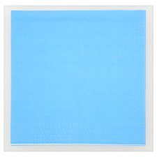 Tesco Blue Napkins 16Pk