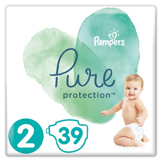 image 1 of Pampers Pure Protection Size2 39 Nappies