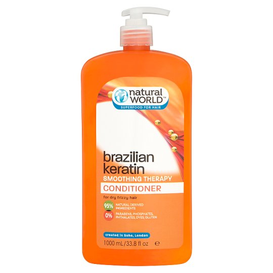 Natural World Brazilian Conditioner 1000Ml
