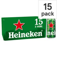 Heineken Can Lager Beer 15X440ml