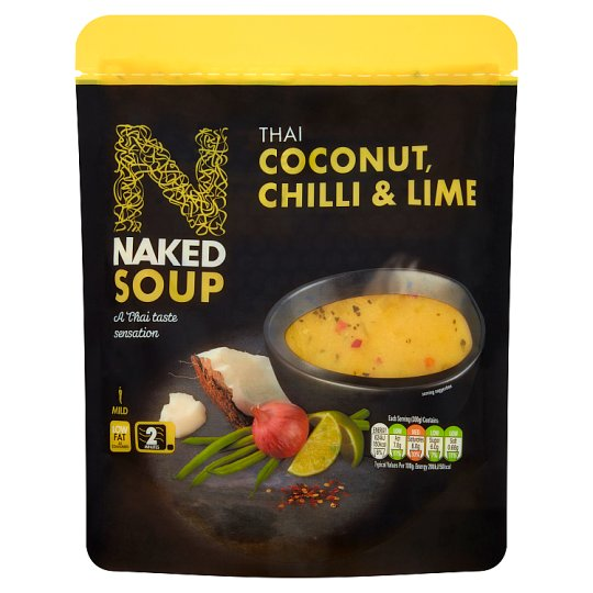 Naked Soup Thai Coconut Chli And Lime 300G
