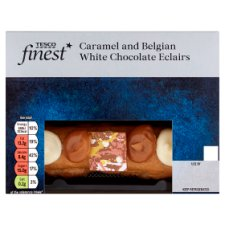 Tesco Finest White Chocolate And Caramel Eclairs