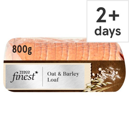Tesco Finest Oat And Barley Loaf 800G