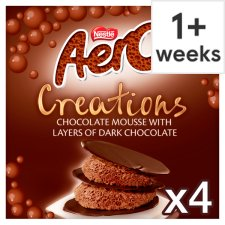 Aero Creations Chocolate Mousse 4 X57g