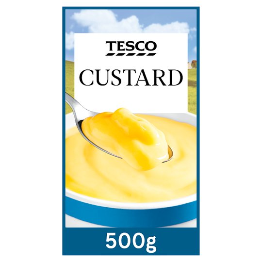 Tesco Ready To Serve Custard 500G