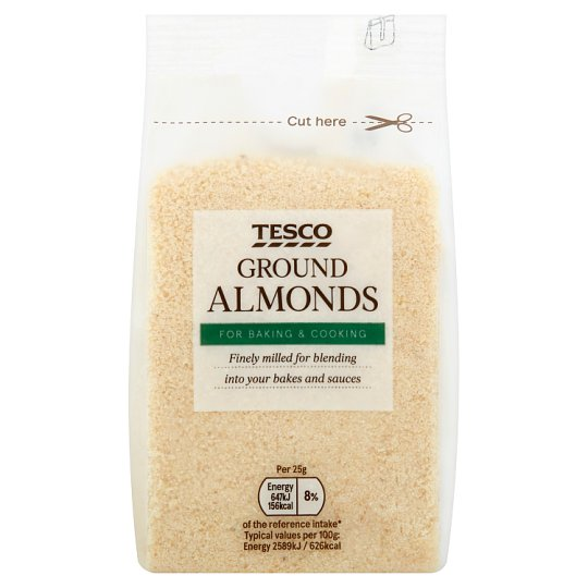 Tesco Ground Almonds 100G