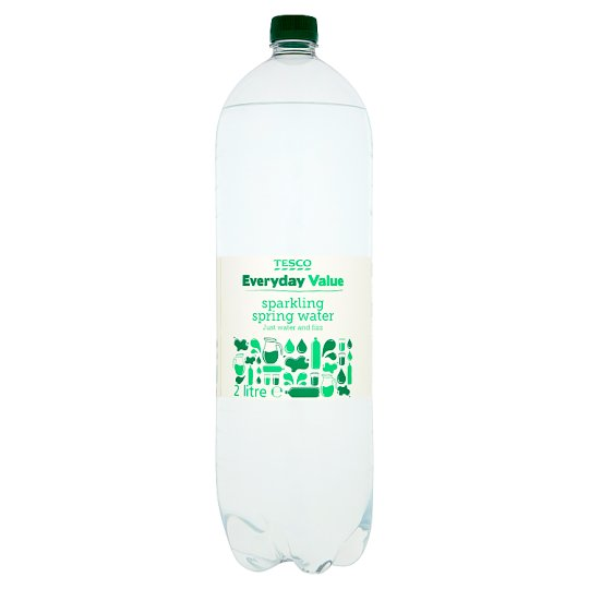 Tesco Everyday Value Sparkling Water 2Ltr
