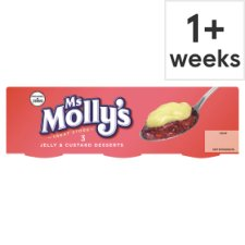 Ms Molly's Jelly And Custard Dessert 3 Pack 375G