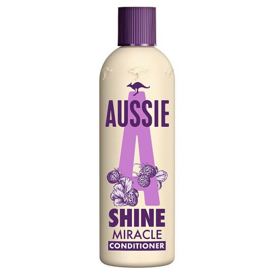 image 1 of Aussie Miracle Shine Conditioner 250Ml