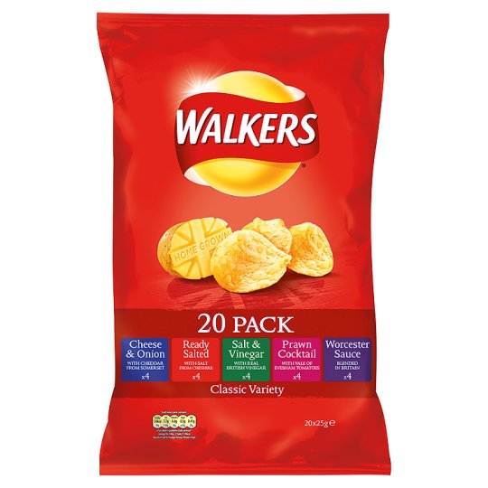 Walkers Variety 20X25g