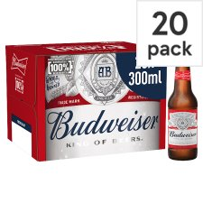 Budweiser 20X300ml Bottle