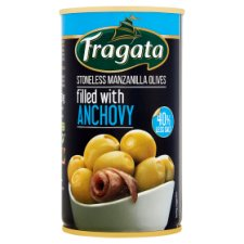 Fragata Low Salt Anchovy Stuffed Olives 350G