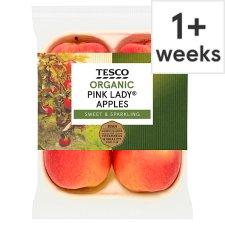 Tesco Organic Pink Lady Apples 440G