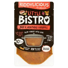 Kiddylicious Little Bistro Beef And Vegetable Casserole 180G